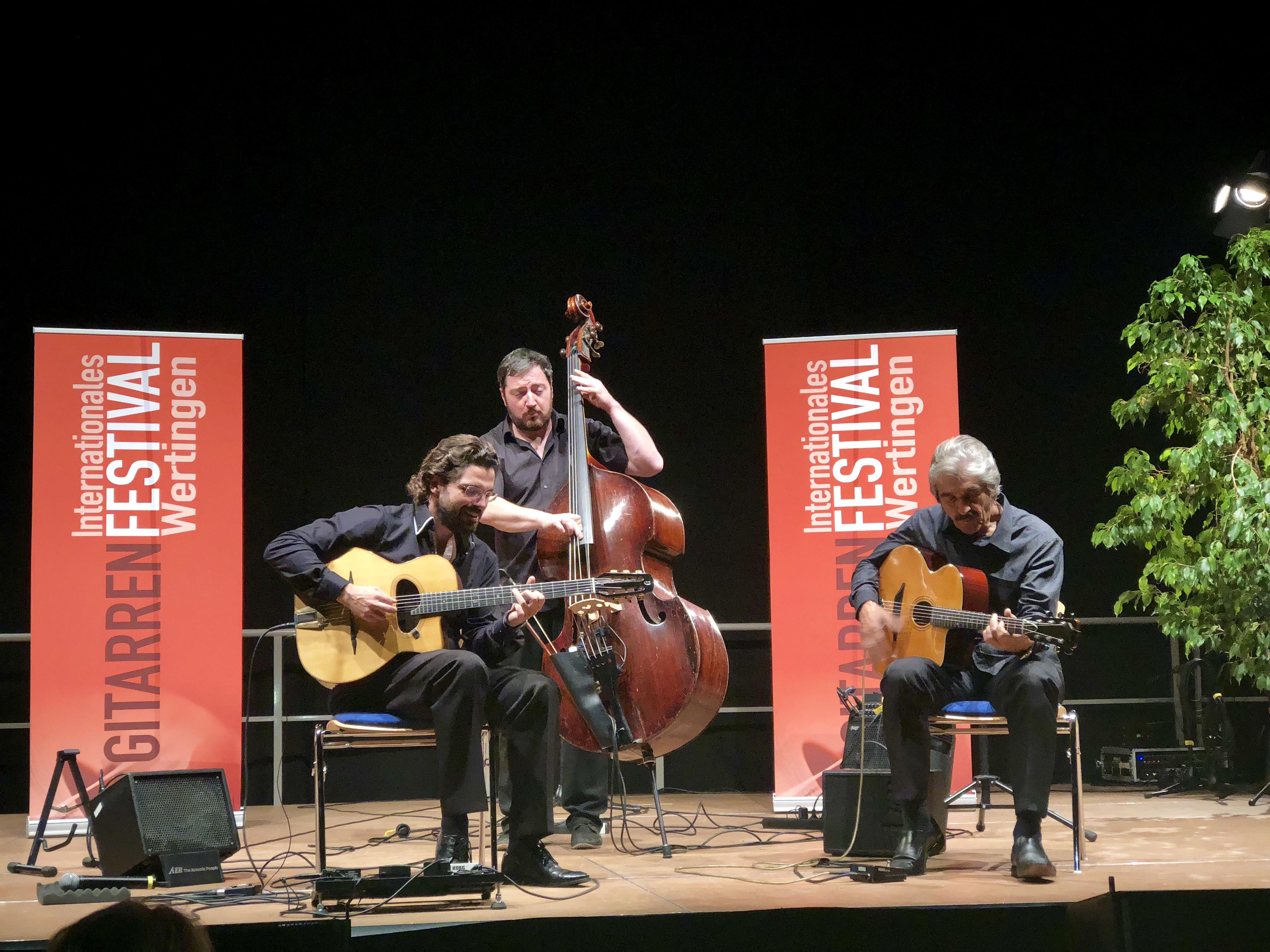 Das Joscho Stephan Trio in Wertingen!