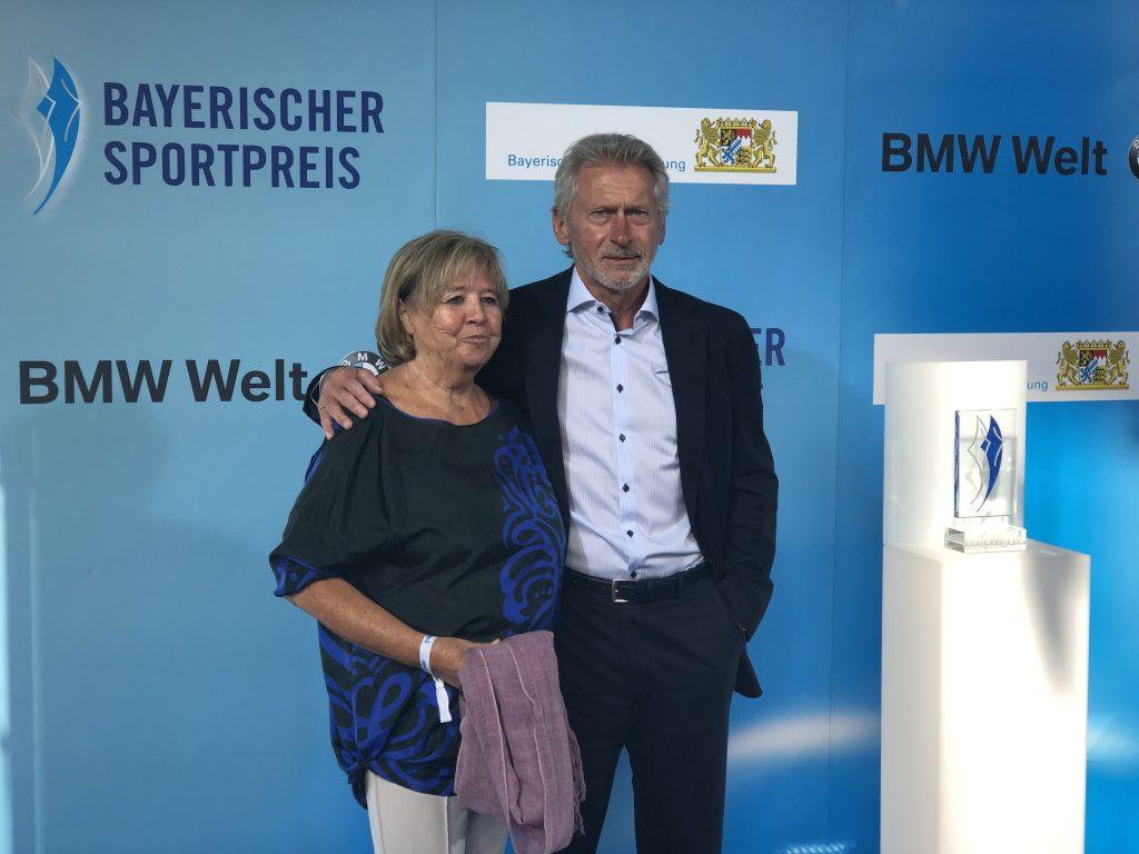 Paul Breitner und seine Frau waren Gäste.
