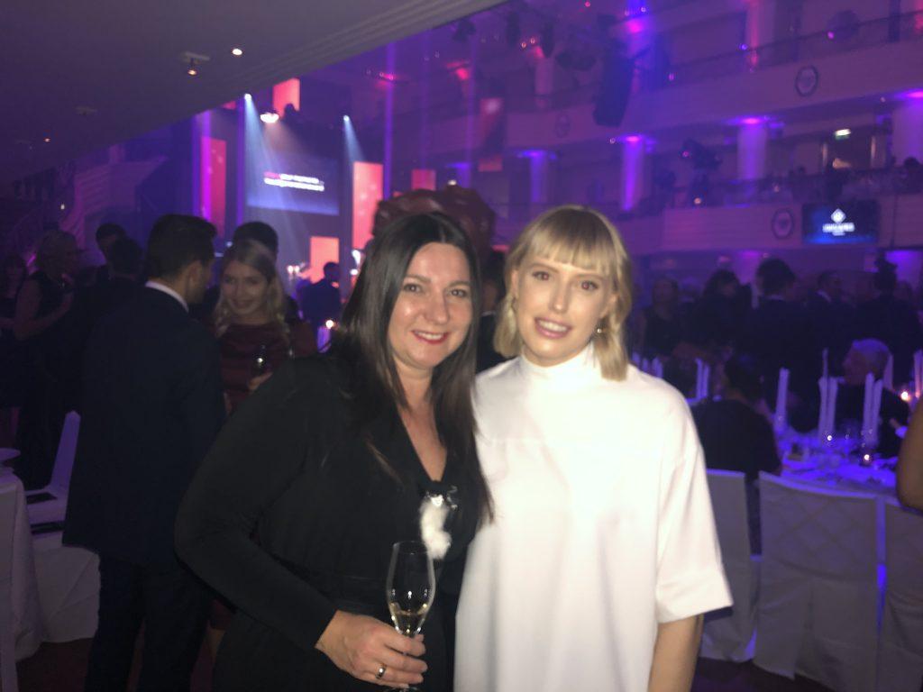 Mit LEA kurz vor der Verleihung