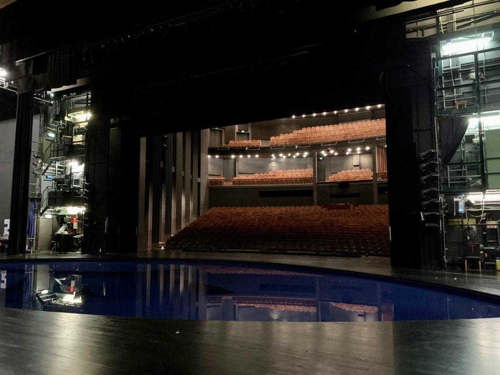 Backstage im Festspielhaus