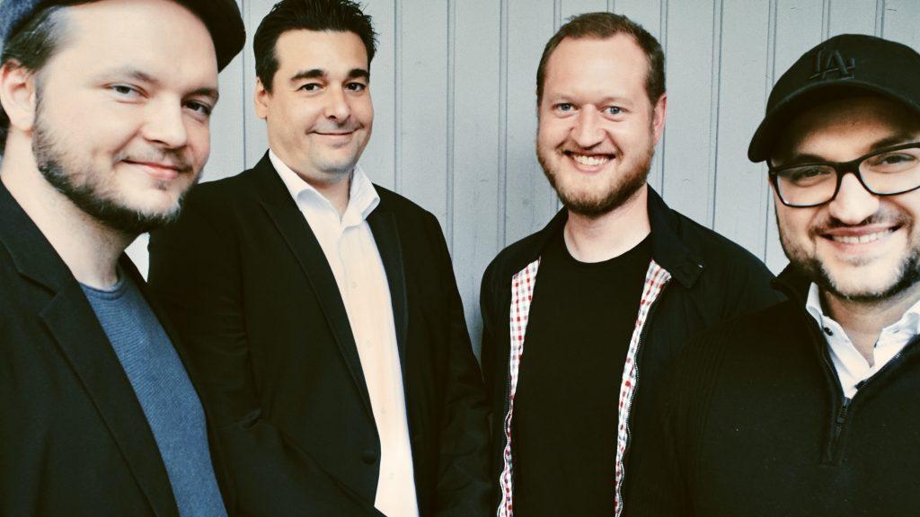 Die Vier von der Four Guys Film Distribution.