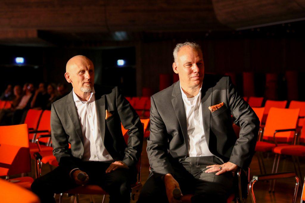 Die Vorstände des Augsburger Medienforums, Gerhard Ruff (l.) und Eiko Trausch, Bild: Stefan Mayr Lighthouse Fotografie