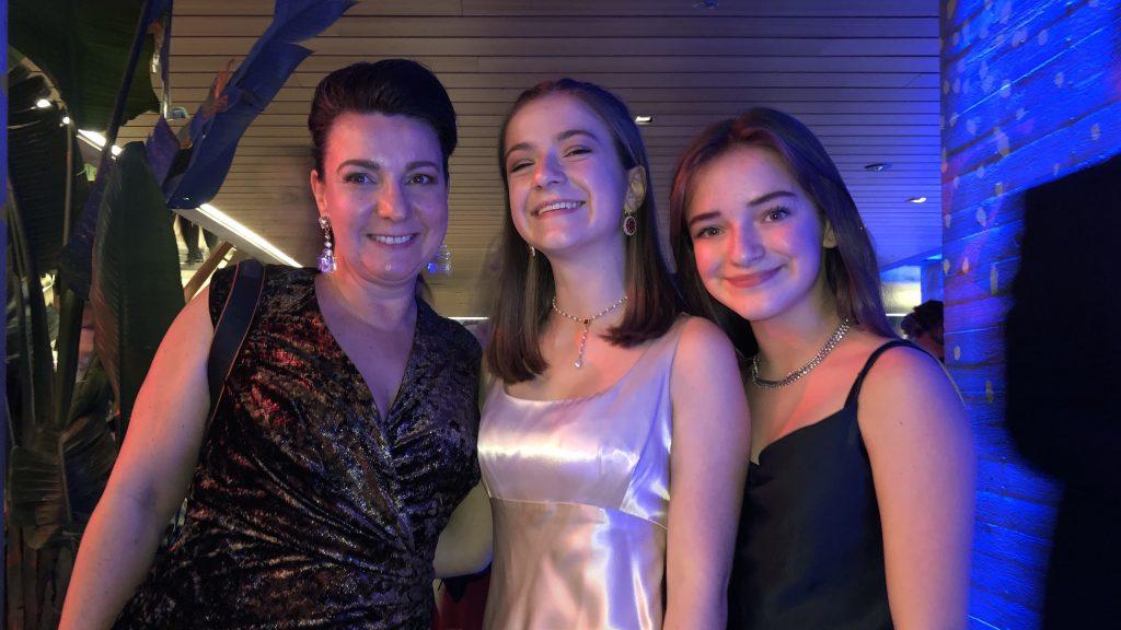 Mit Mimi und Josy auf dem Presseball 2019
